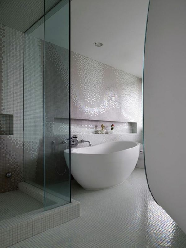 Badewanne Mosaik fliesen für ihr badezimmer weiß badewanne mosaik badezimmer