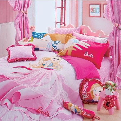 full size bedding for girls | Bedding Sets, Barbie Bedding ...