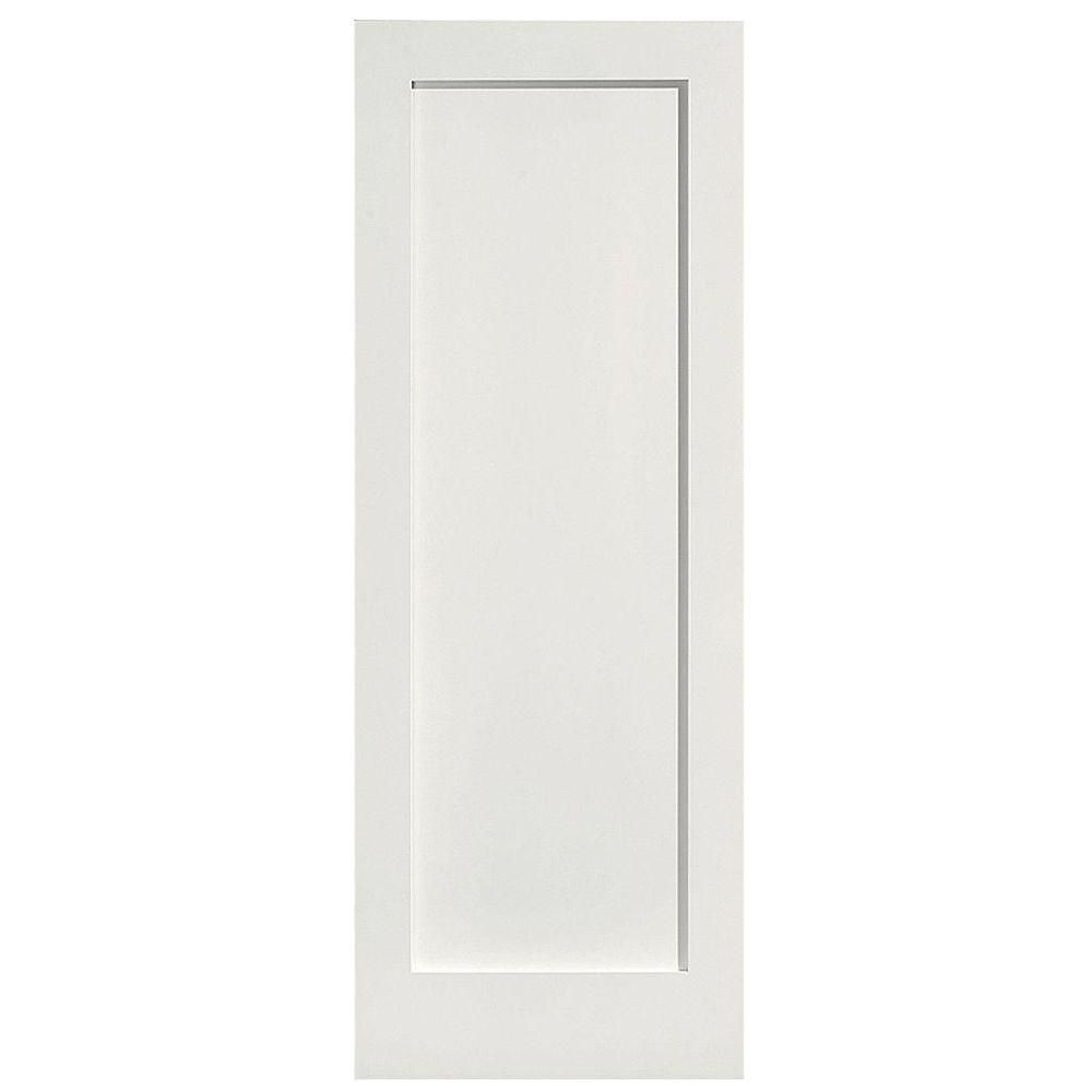 Masonite 28 In X 80 In Mdf Series 1 Panel Left Handed Solid Core