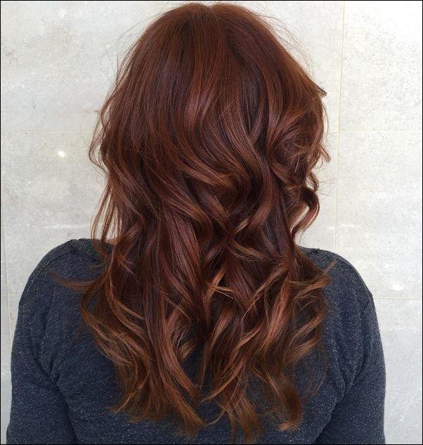 Die Besten 25 Haarfarben Braun Rot Ideen Rotbraune