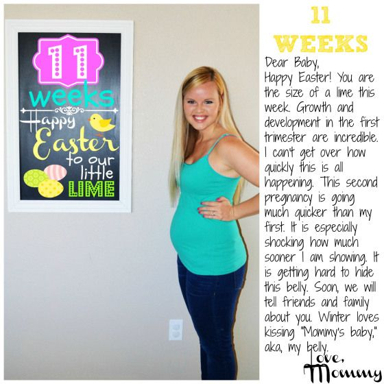Baby #2 BUMP REPORT – 11 Weeks   Baby scan, 11 weeks pregnant, Dear baby