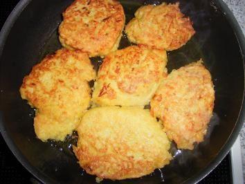 Kartoffel-Gemüsepuffer - Rezept