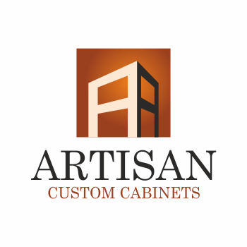 Creative Logo Design For Artisan Custom Cabinets  Hiretheworld Adorable Kitchen Design Logo Inspiration