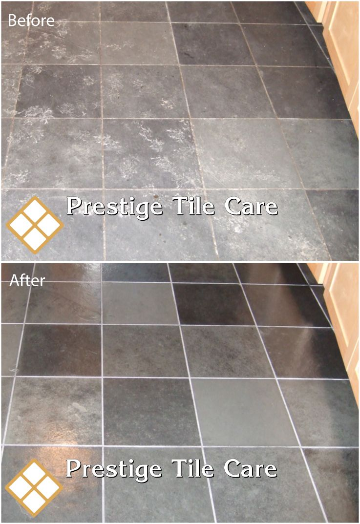 Cleaning And Restoring A Slate Tile Floor Seattle Tile And Grout