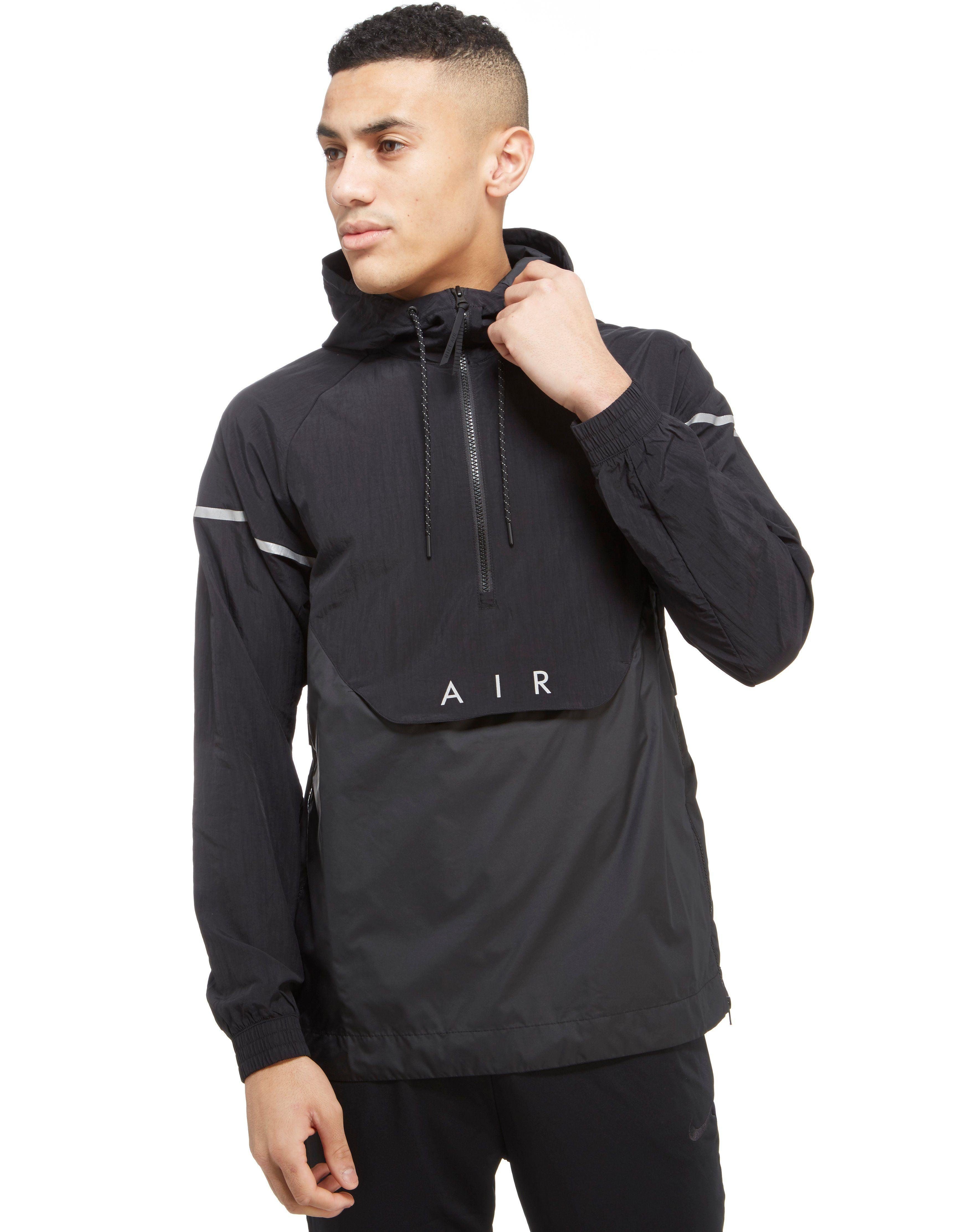 nike air hybrid 1 2 zip woven jacket shop online for. Black Bedroom Furniture Sets. Home Design Ideas