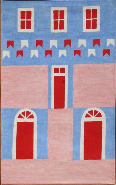 1970 Fachada Volpi Com Imagens Volpi Arte Moderna