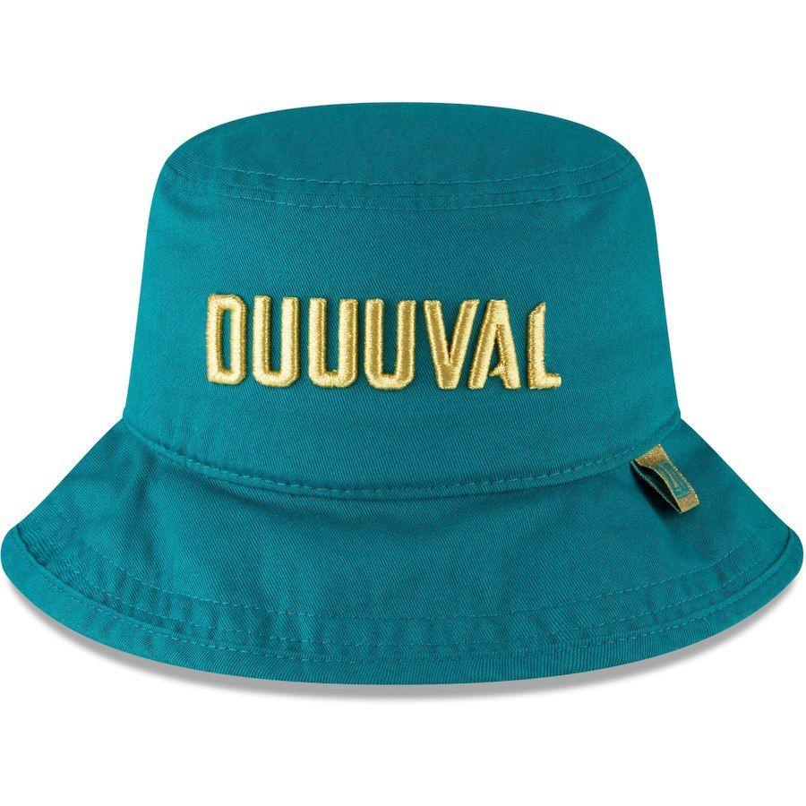 buy online 4522b 32907 Men s Jacksonville Jaguars Jalen Ramsey New Era Teal Design Lab Duuuval  Bucket Hat, Your Price