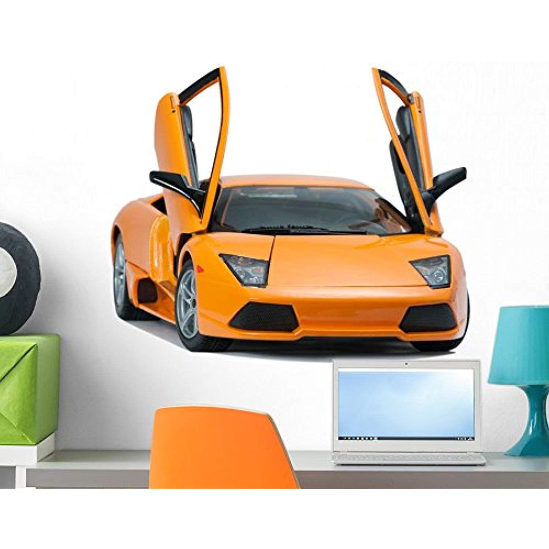 Wallmonkeys Yellow Lamborghini Car Wall Decal Peel And Stick Graphic 24 In W X 21 In H Wm272473 Want Additional Info Cli Lamborghini Cars Car Lamborghini [ 1500 x 1500 Pixel ]