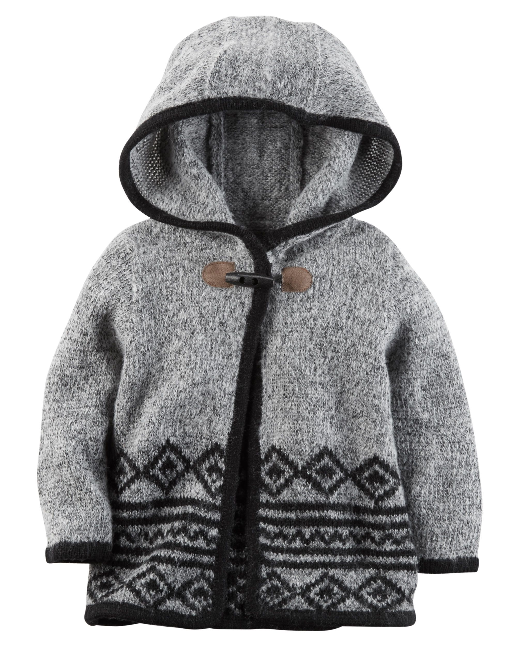 56cc8aeb0 Baby Girl Hooded Sweater