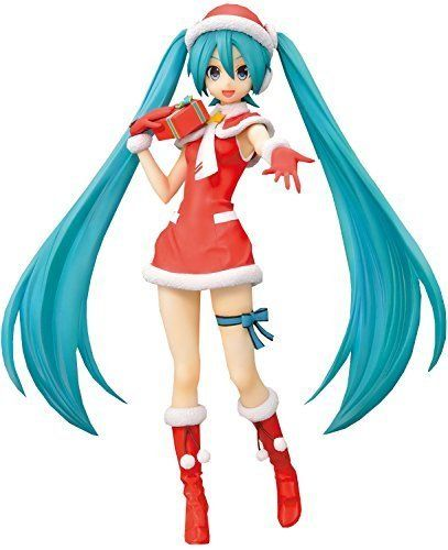 sega hatsune miku project diva f 2nd hatsune miku christmas spm super premium figure