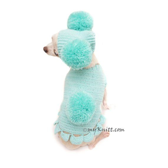 Bunny Easter Dog Outfit, Cute Bunny Pet Costume, Pom Pom Dog Hat ...