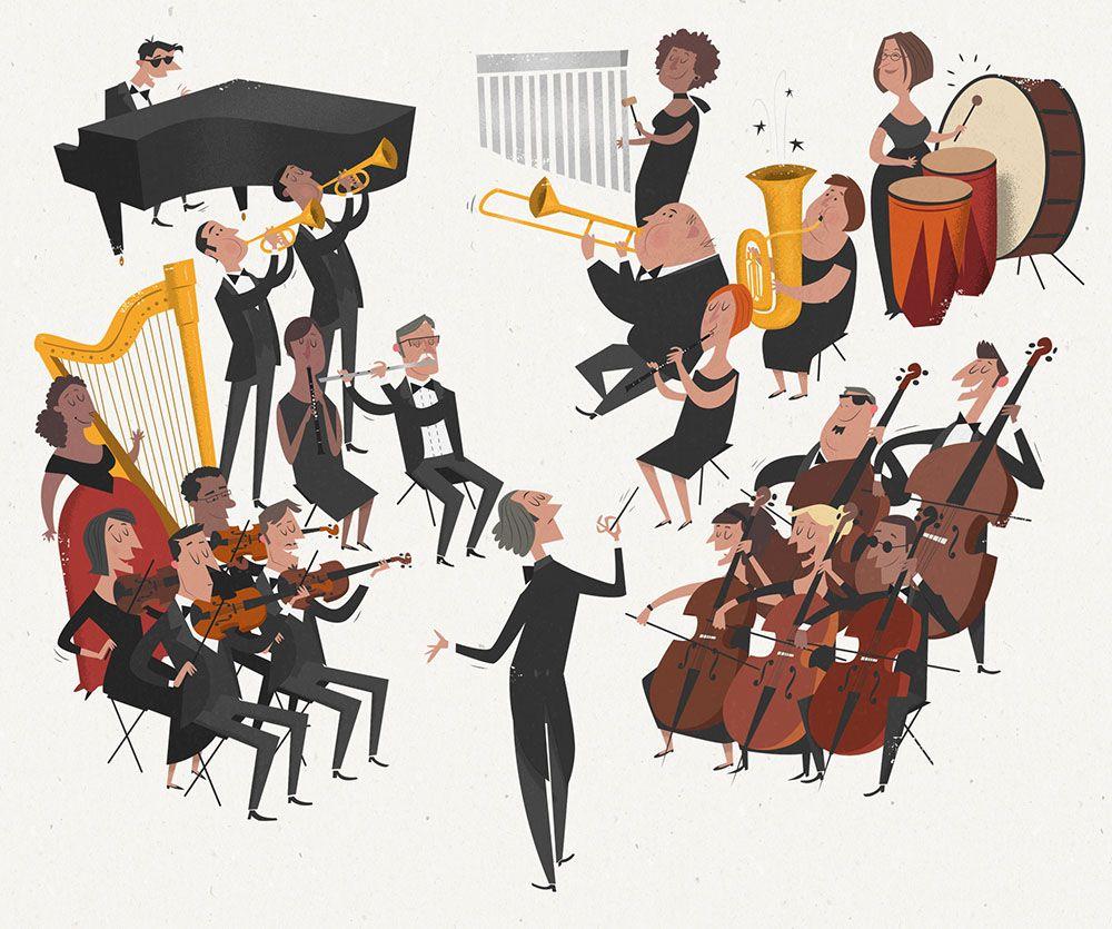 peter donnelly illustration | 音楽 | pinterest | 楽器、插画、音楽