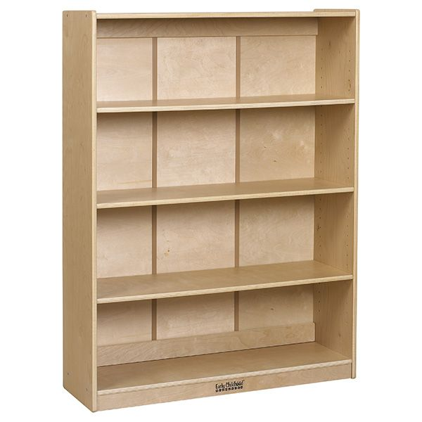 Ecr4kids Classic Birch Bookcase Is The Perfect Addition To Your Classroom Library Or Reading Area This Sturdy Birch Pl Adjustable Shelving Ecr4kids Bookcase
