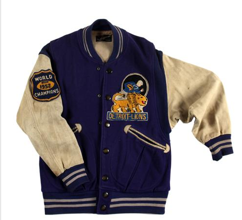 89eb07728bc Detroit Lions 1952 Champions Jacket. The Lions defeat the Cleveland Browns  17 - 7.