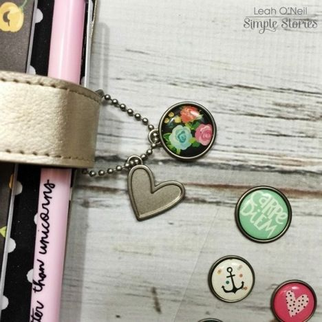 Our self adhesive Bradz fit the Carpe Diem planner charm included with your planner - a great way to customize your planner charm!