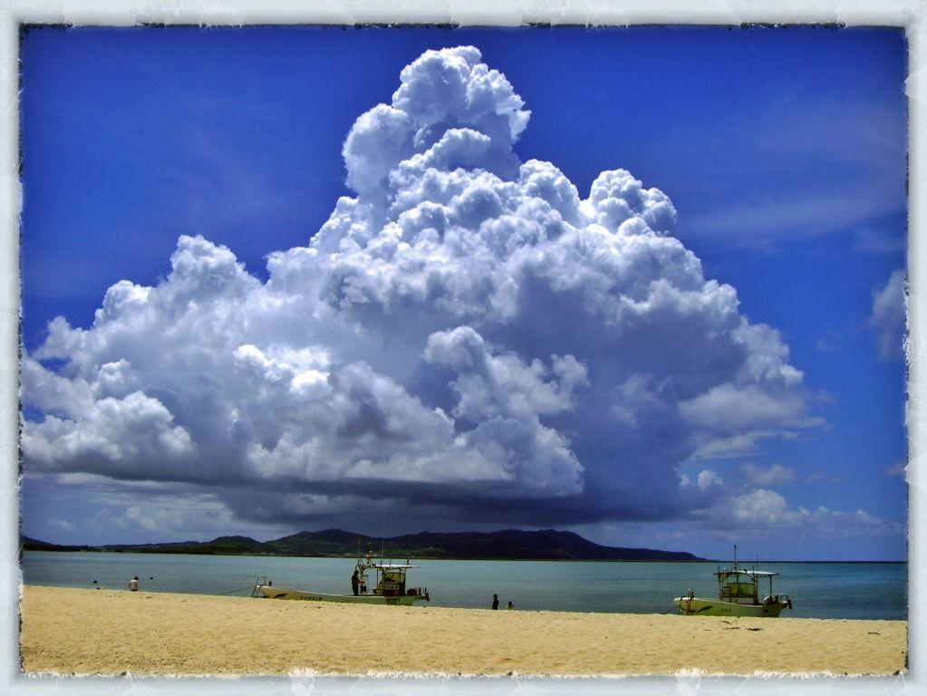 Clouds over Kumejima