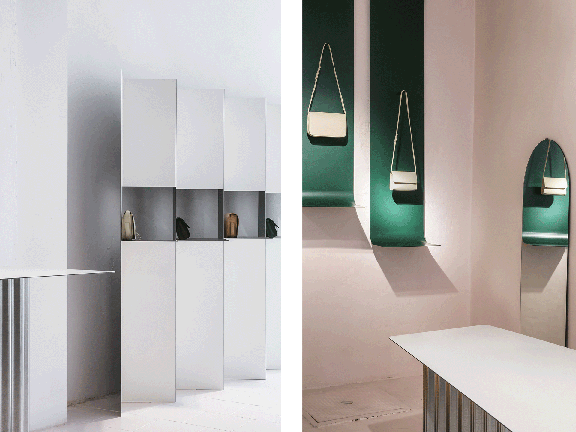 Lies Mertens And Its Message Of Minimalism Minimalism Shelving  # Meuble Design Zein Chloe