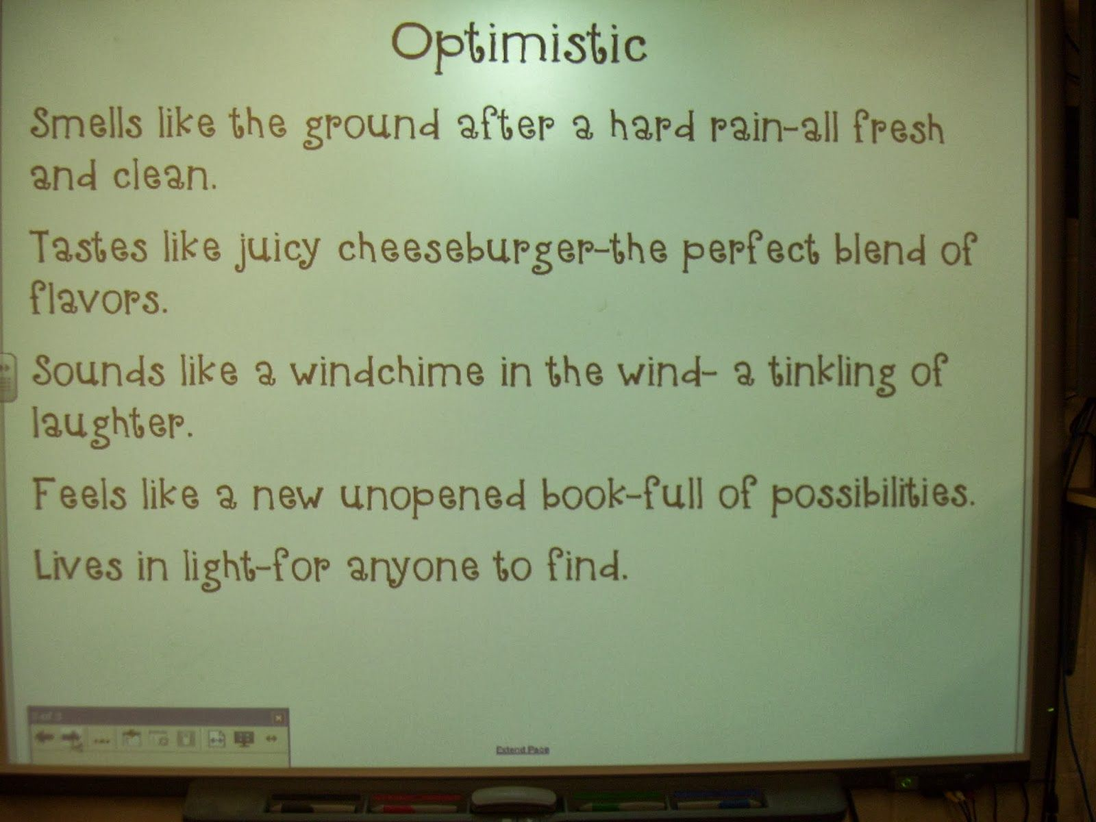 Abstract Noun Poetry Smiles And Sunshine Writing