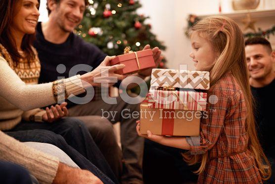 An abundance of gifts royalty-free stock photo