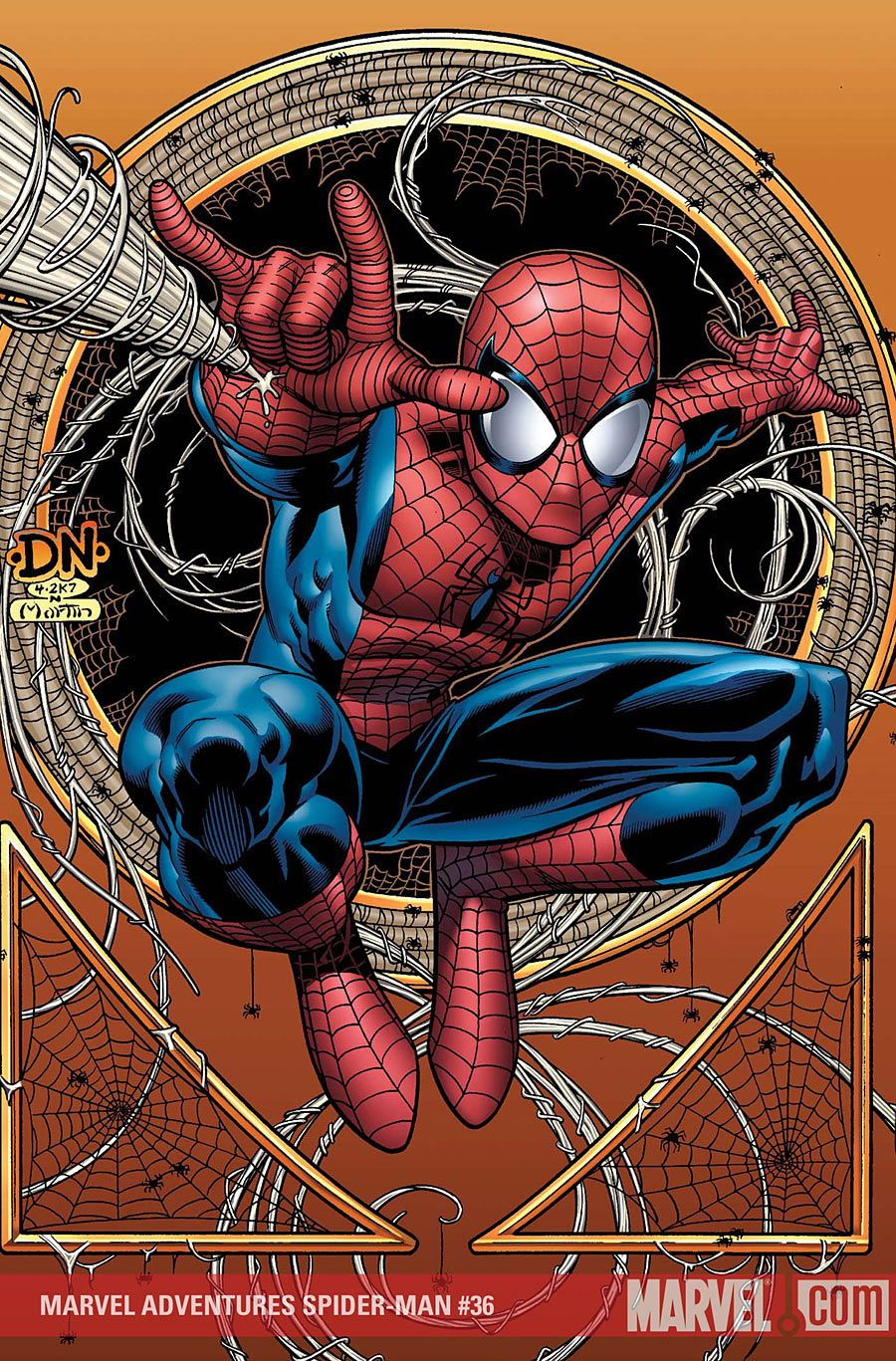 Marvel Adventures Spider-Man #36 •David Nakayama