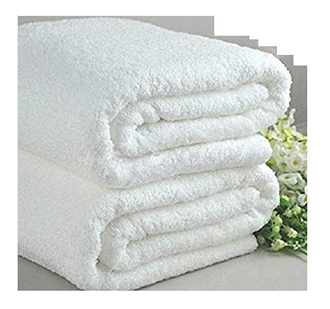 Elaine Karen Deluxe Luxury Oversized White Terry Bath Towel Review