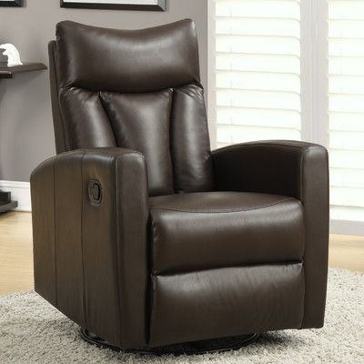 Found it at Wayfair - Swivel Glider Recliner