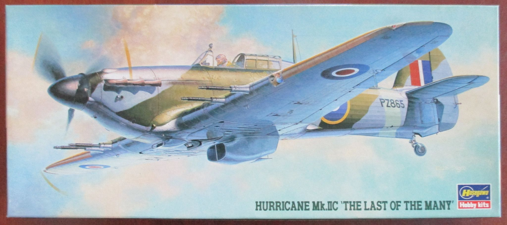Hasegawa 1/72 Kit WW2 Hawker Hurricane Mk.IIC 'Last of the Many'