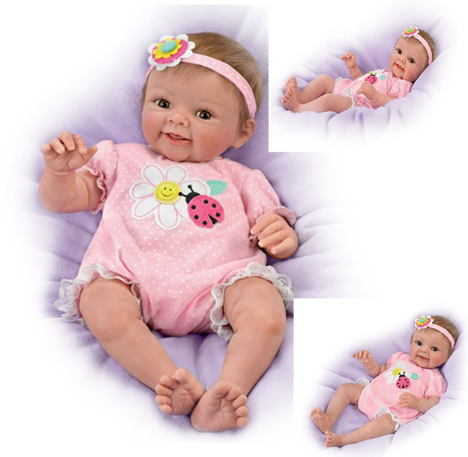 Adorable Addison Lifelike Poseable Baby Doll by The Ashton-Drake Galleries