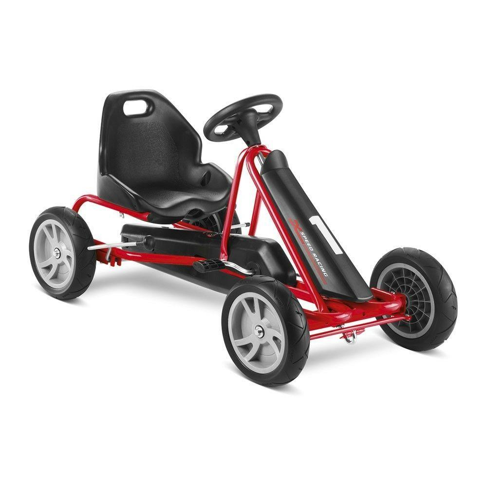 Ebay Sponsored Puky Go Cart F 20 In Schwarz Rot Gokart Cart F20 30171 Puky Nr 3323 Roller Fur Kinder Kinder Autos Go Kart