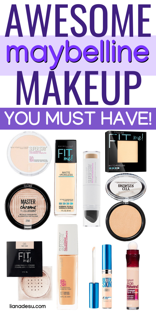 Best Of Maybelline Top 10 Products Liana Desu Drugstore Makeup Brands Maybelline Makeup Products Maybelline Makeup