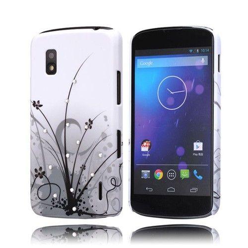 Princess (Musta pensas) LG Goolge Nexus 4 Kotelo - http://lux-case.fi/princess-musta-pensas-lg-goolge-nexus-4-kotelo.html