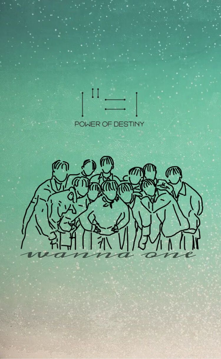 Wanna One Power Of Destiny Wallpaper Wanna One Wallpaper In 2019