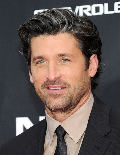 Patrick Dempsey With Salt Pepper Hair And Still Looking Great