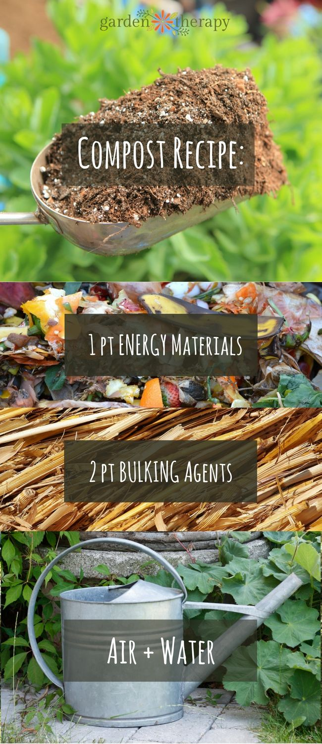 A Compost Recipe to Demystify Composting | Pinterest | Composting ...