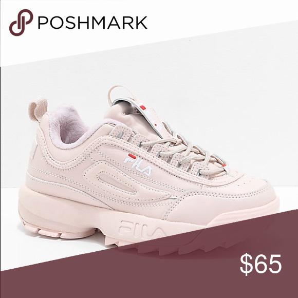 Fila Disruptor sneakers baby pink