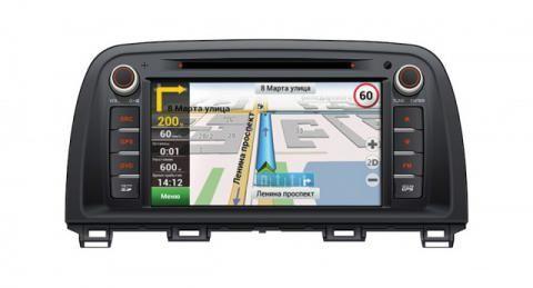Штатная магнитола с GPS навигацией, двд, блютуз, тв для установки в штатное место на MAZDA 6 New (2013+), CX-5 (2012+) V-MC5R (Мазду 6 Новую, ЦИкс-5). Купить, установить, заменить в интернет магазине КомБез-Авто.