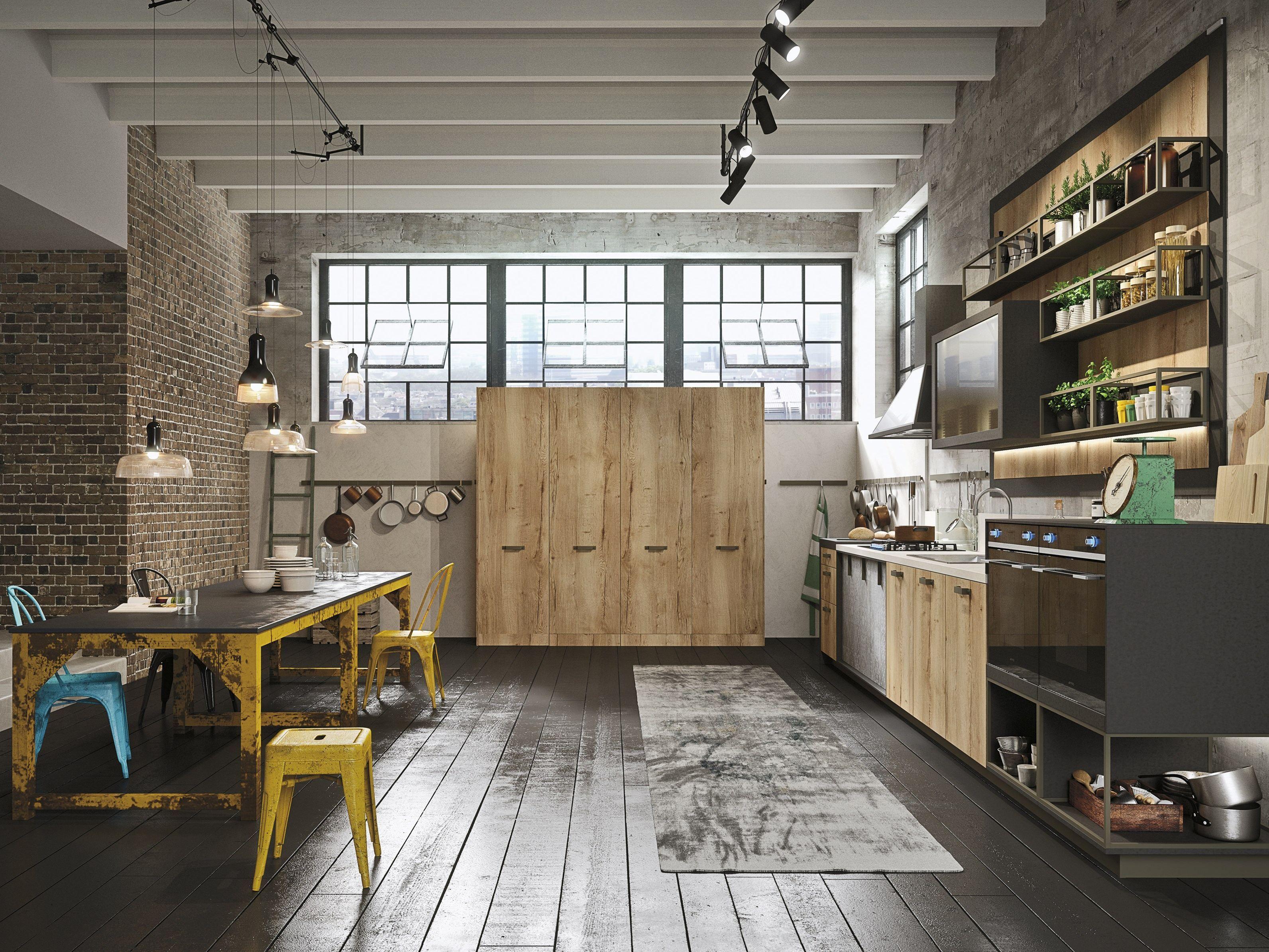 LOFT Linear kitchen by Snaidero design Michele Marcon
