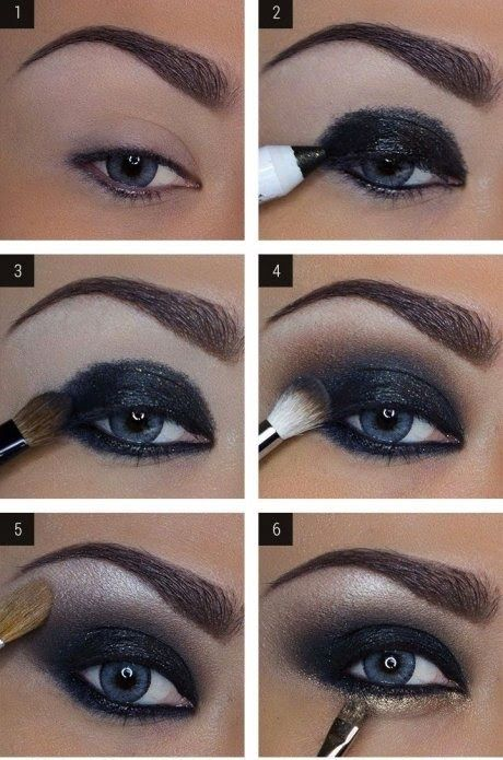 maquillaje ojos marrones paso a paso - Buscar con Google