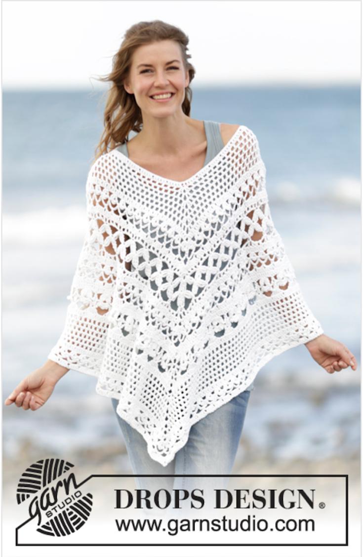 8 Summer Crochet Poncho Patterns | crocheting \
