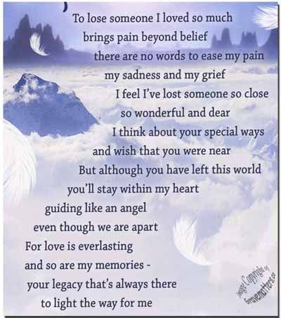 Deceased Birthday Remembrance for Husband | Birthday Poems ...
