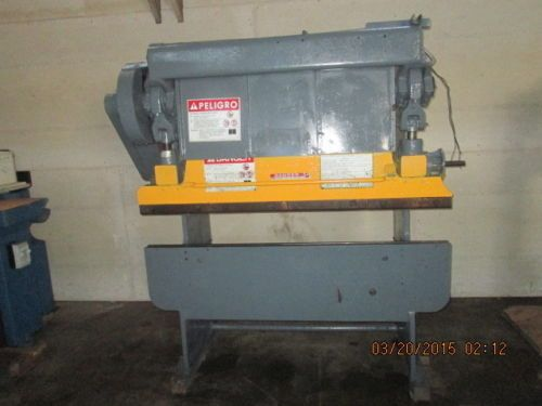 5 Foot 25 Ton Chicago Mechanical Press Brake Oc732 Press Brake Metal Working Mechanic