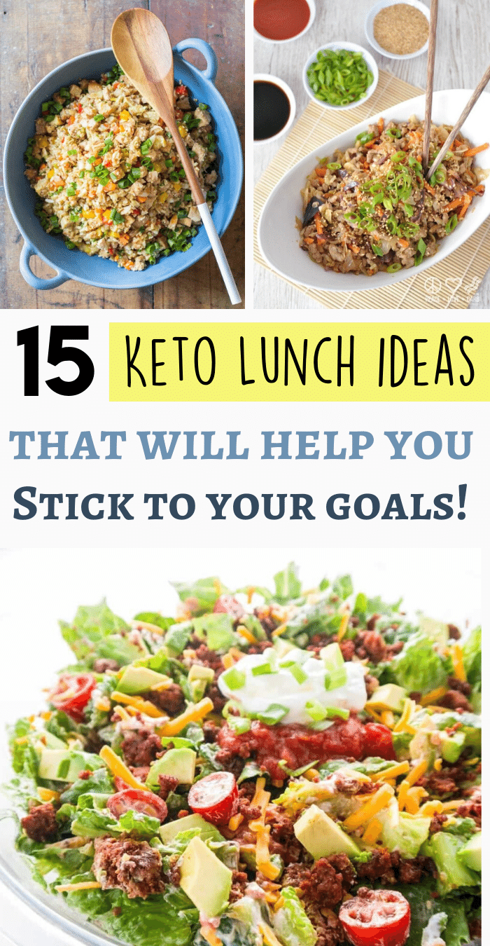 21 Keto Lunch Ideas! Perfectly packable low carb lunches for work or school! Whether you're a mea