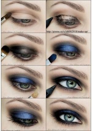 Sombra azul escuro para substituir o preto http://vilamulher.terra.com.br/sombra-azul-escuro-e-uma-boa-opcao-para-substituir-o-preto-2-1-14-1409.html
