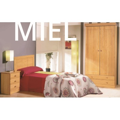 Dormitorio Pino Provenzal Con Armario Home Moveis