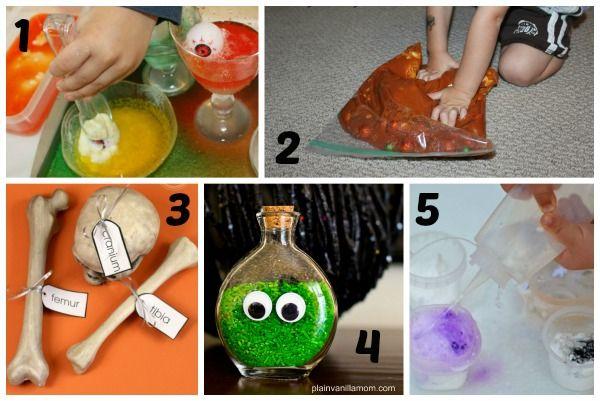 Super Fun Halloween Science and Sensory Activities for Kids - halloween party ideas for preschoolers