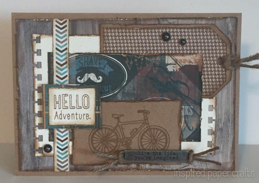 Hello Adventure - I Wheelie Like You! www.inspiredpapercrafts.com