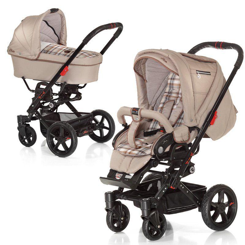 Ein wendiger und trendiger Kinderwagen für den Spaziergang mit den Neugeborenen >> Hartan VIP XL Kinderwagen mit Tragetasche und Sportwagenaufsatz #kinderwagen #pram #stroller #pushchair #sportwagen #geburt #schwangerschaft #maternity