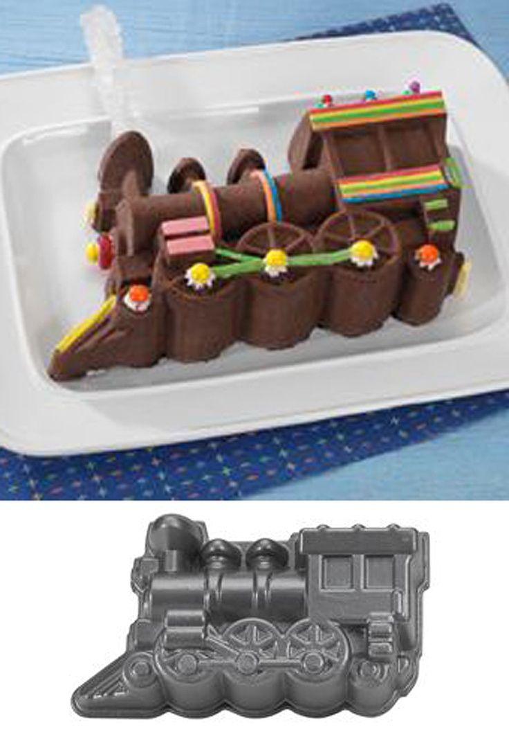 Wilton Train Cake Pan 2 Piece Kids Birthday 2105 2861