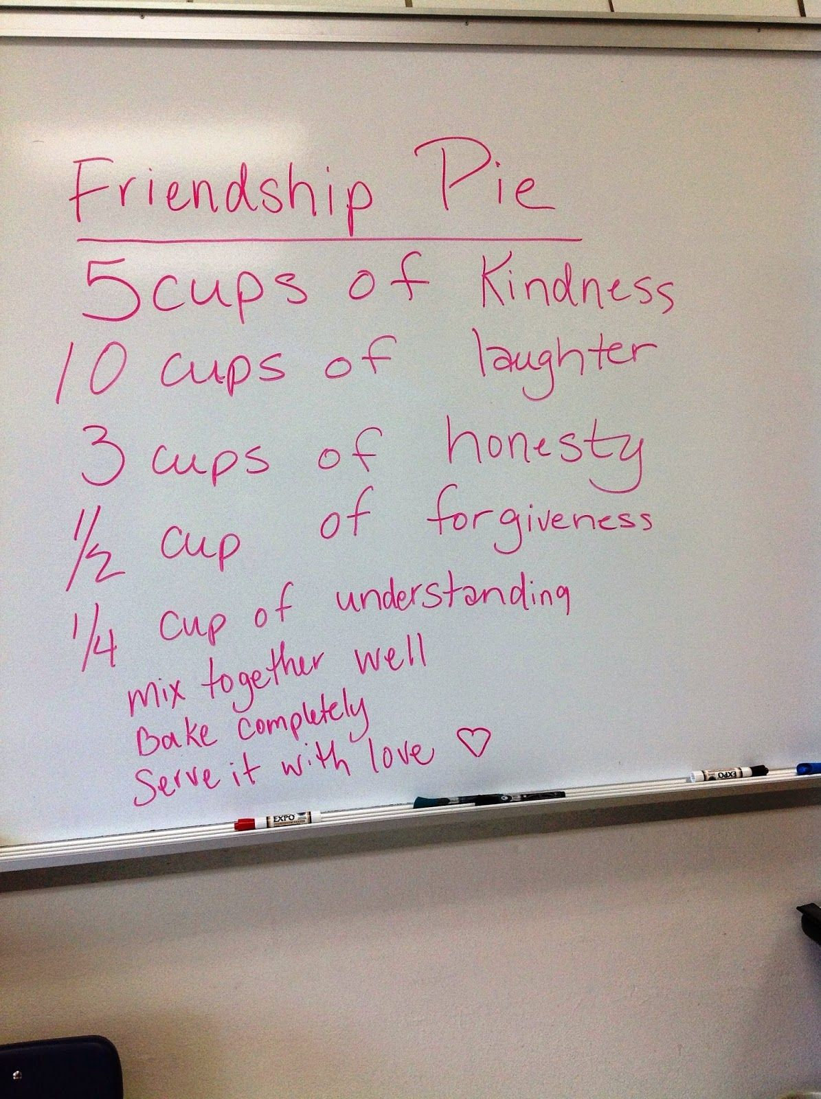 Enemy Pie A Lunch Bunch Lesson Plan