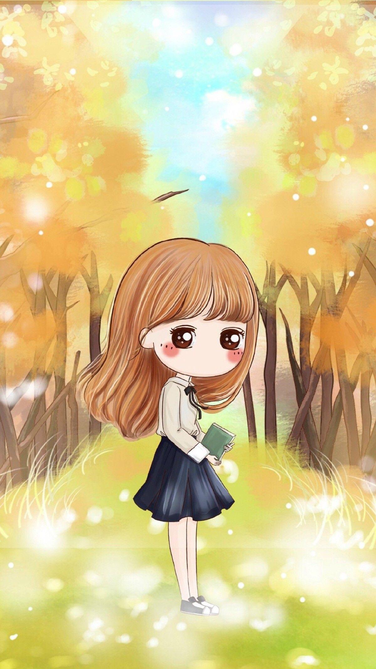 Pin by ROSE on Girl Cute girl wallpaper, Cute kawaii